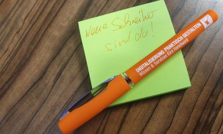 Think digital – write orange!