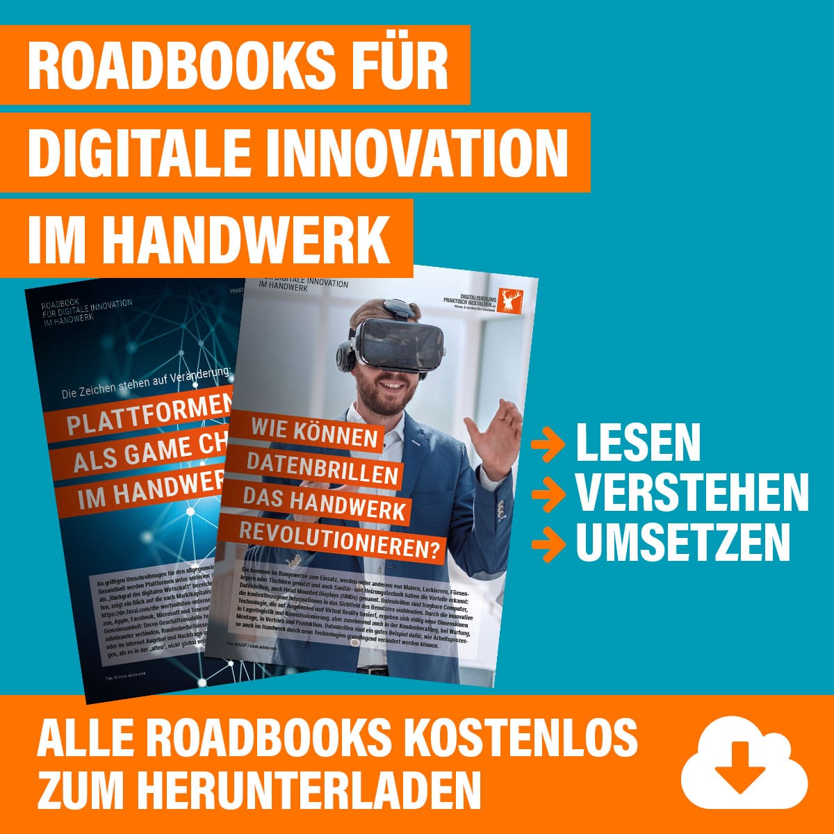 Roadbooks für digitale Innovation im Handwerk